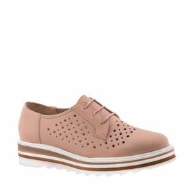 Zapato Bostoniano Casual Dama De Piel