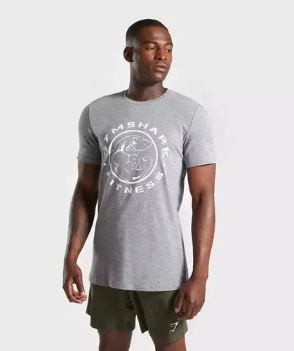 Gym Shark Camiseta Legacy Fitness Gym Crossfit 2019