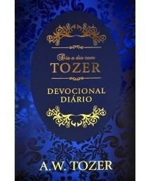 Livro Dia A Dia Com Tozer Devocional Diário Couro Luxo