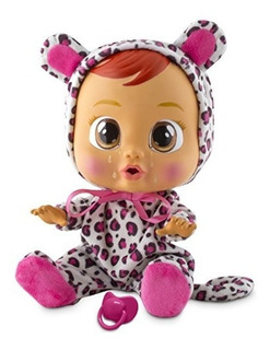 Muñeca Que Llora Marca Cry Babies Diseño Lea Original
