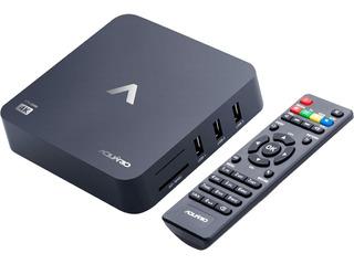 Smart Tv Box Android Stv-2000 Aquario Original Com N. Fiscal