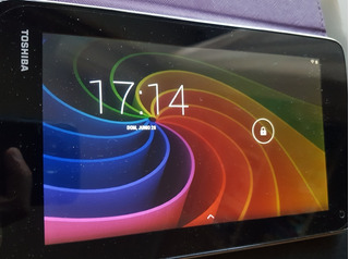 Tablet Toshiba Excite 7c (display 7 , 8gb, Funda Y Cargador)