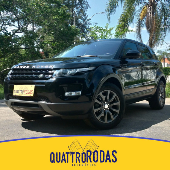Land Rover Evoque - 2013/2014 2.0 Pure 4wd Gas 4p Automático