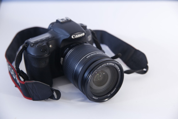 Câmera Dslr Canon 60d + Lente Canon 18-200mm F3.5-5.6 Is
