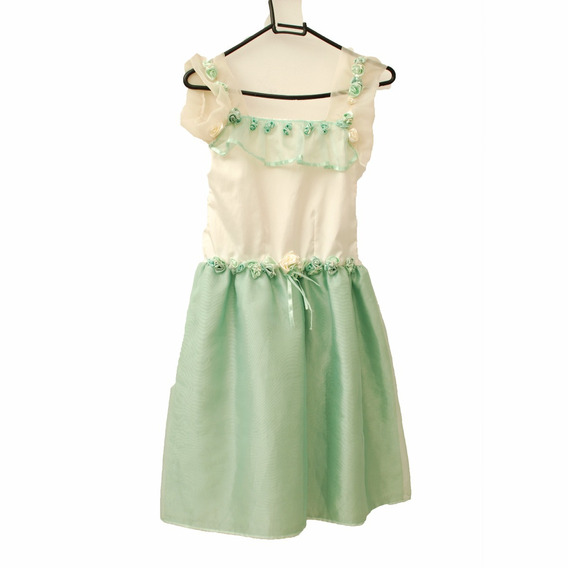 Roupa Para Estúdio Fotográfico:vestido Infantil Verde