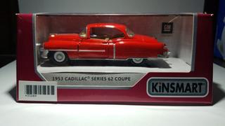 Kinsmart Cadillac 62 Coupé 1953 Escala 1:36 (aprox 12 Cm)