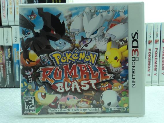 Jogo Pokémon Rumble Blast - Nintendo 3ds - Em 12x Sem Juros!