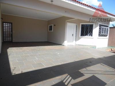 Casa Residencial Para Locação, Jardim Colina, Americana. - Ca1231