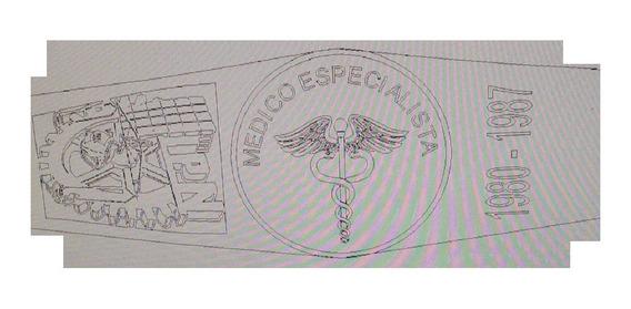 Anillo Graduacion Medico Especialista Politecnico