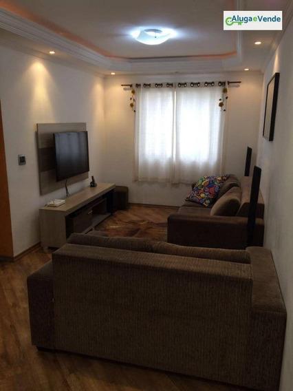 Apartamento Com 3 Dormitórios À Venda, 76 M² Por R$ 330.000 - Macedo - Guarulhos/sp - Ap0113