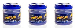 Presto 1kg Insecticida P/gallina Ciega,hormigas,pasto 3 Pzas