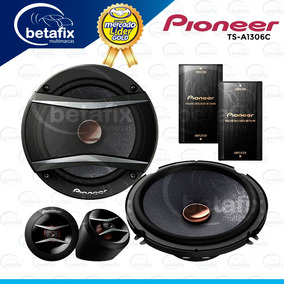 Parlantes Componentes Pioneer Ts-a1306c Betafix Ec
