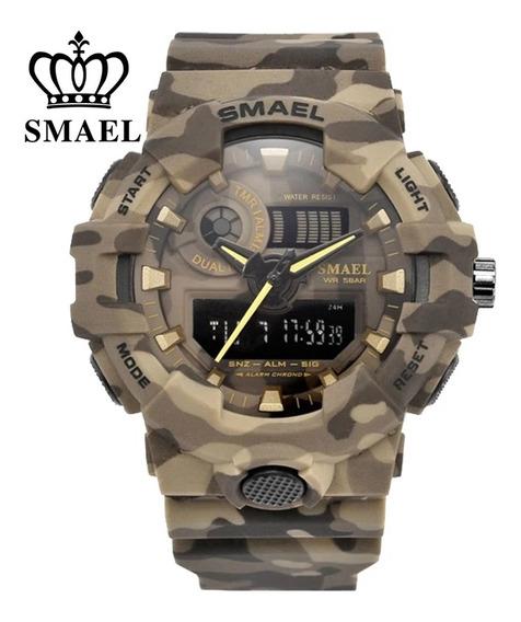 Relógio Smael Camuflado