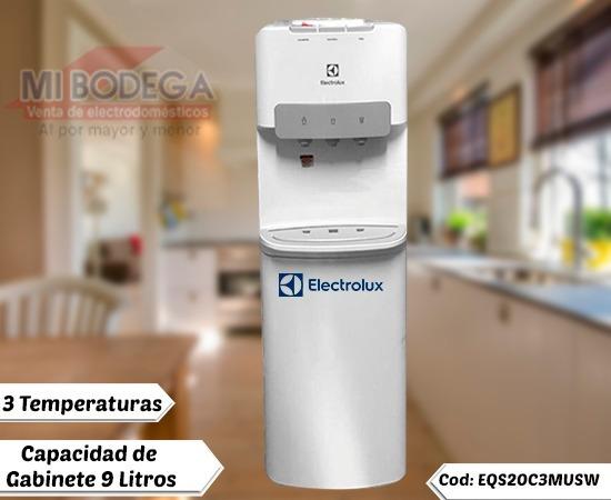 Dispensador Electrolux Color Blanco Agua Fria Y Caliente