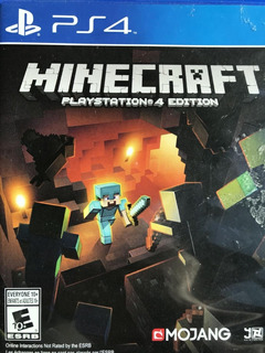 Minecraft Playstation 4 Edition Juego Ps4 / Mipowerdestiny