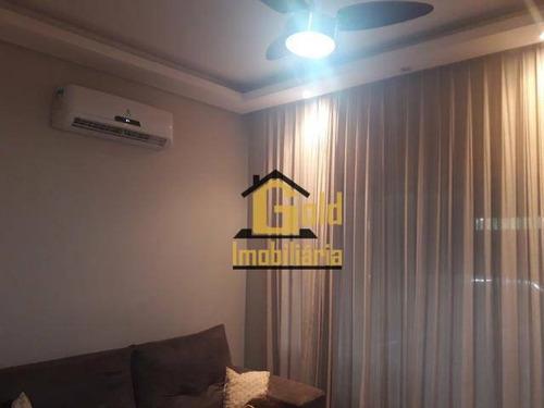 Casa Com 2 Dormitórios Para Venda, 60 M² Por R$ 230.000,00/ - Parque São Sebastião - Ribeirão Preto/sp - Ca0741