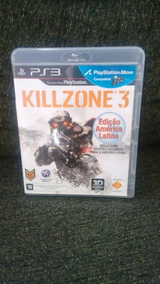 Killzone 3 Ps3 Semi Novo Original Mídia Física