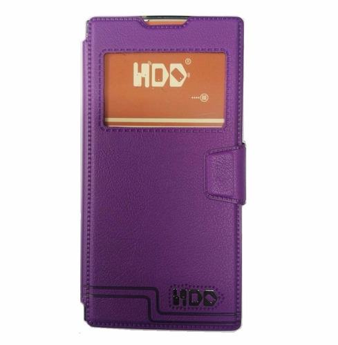 Sony Xperia L1 G3313 Funda Morada Flip Cover Estuche Case