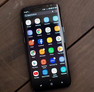Galaxy S8 Preto + Capa Original + Nota + Caixa E Acessorios