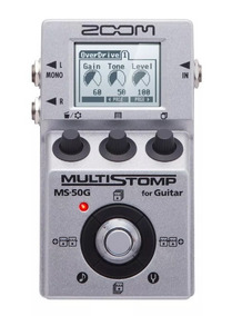Pedal P/ Guitarra Multi-efeitos Stompbox Ms-50g Reverb Zoom