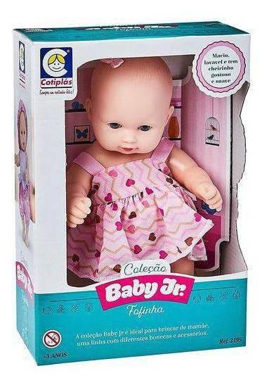 Boneca Baby Junior Fofinha Cotiplas