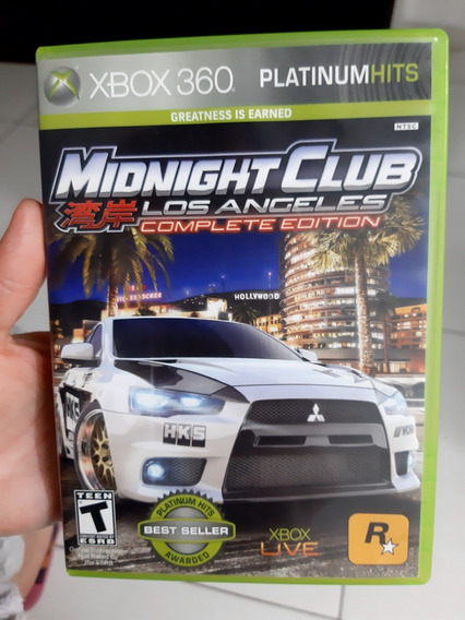 Midnight Club Xbox 360