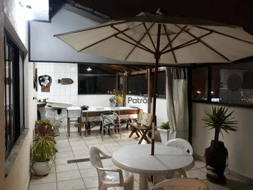 Cobertura À Venda, 200 M² Por R$ 980.000,00 - Vila Marlene - São Bernardo Do Campo/sp - Co0238