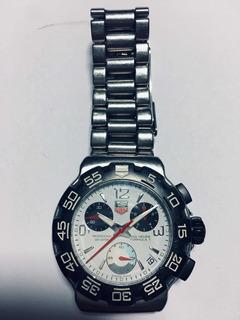Reloj Tag Heuer Fórmula 1 Profesional Con Cronómetro