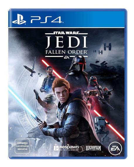 Star Wars Jedi Fallen Order Ps4 Mídia Física Lançamento