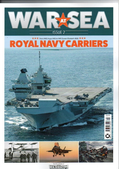 Revista War At Sea - Royal Navy Carriers Uk - Issue #2