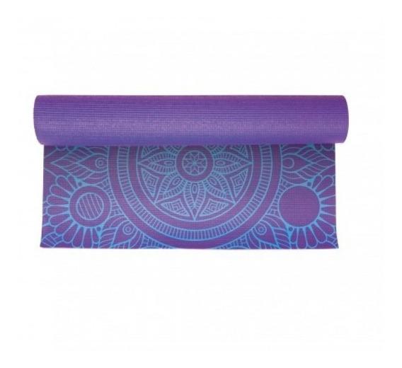 Colchoneta Mat Drb Yoga Impresa 2.0 Violeta