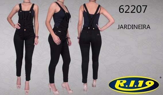 Jardineira Feminina Ri19 Jeans 62207