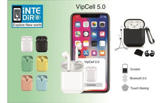 Auriculares Inpods 12 5.0 + Set Vipcell