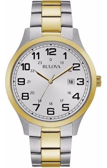 Reloj Bulova Para Caballero Modelo: 98b304 Envio Gratis