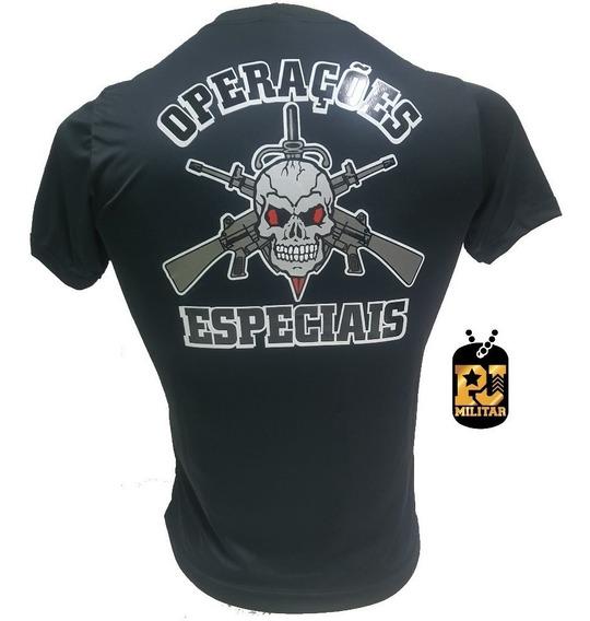 Camiseta Operaçoes Especiais Com Nota Fiscal