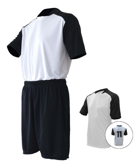 Fardamento Uniforme Personalizado De Futebol - Kit 10 Pcs