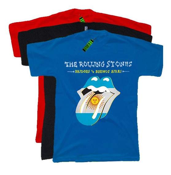 Lum - Remeras Rock The Rolling Stones - Algodon 1ª Calidad