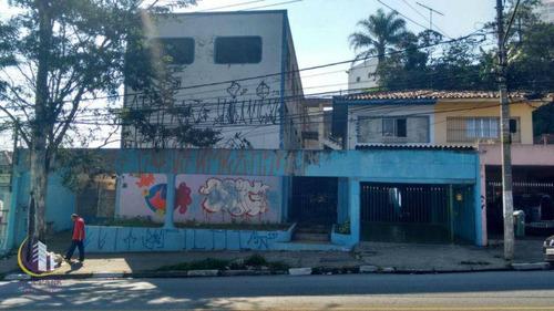 Prédio  Comercial À Venda 1029 M² Ac, Jaguaré, São Paulo. - Pr0001