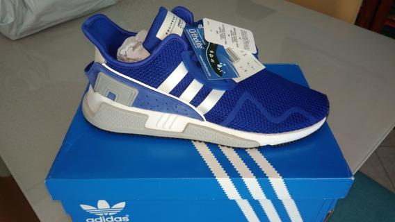 Tênis adidas Eqt Cushion Adv Original Zero Azul Tam 42