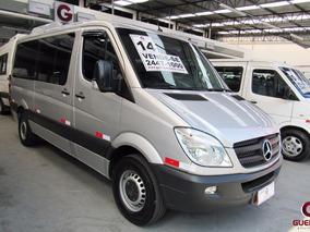 Mercedes-benz Sprinter 415 T.b. 2014/2014 16 Lugares Prata