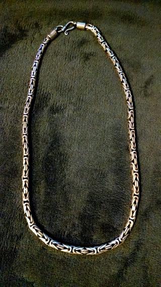 Cordão De Prata - Modelo Bali - Bem Grosso.