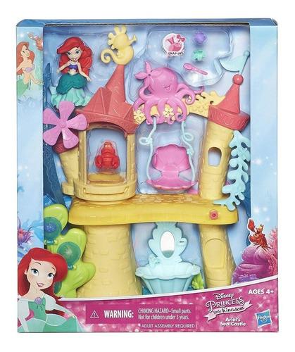 Castillo Disney Princesas Ariel Con Acces Hasbro Original
