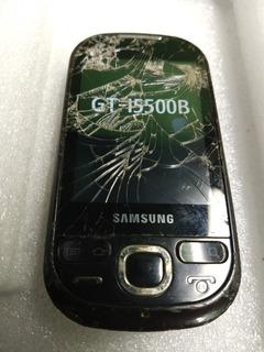 Celular Samsung Androi I5500b Funcionando Trocar O Touch