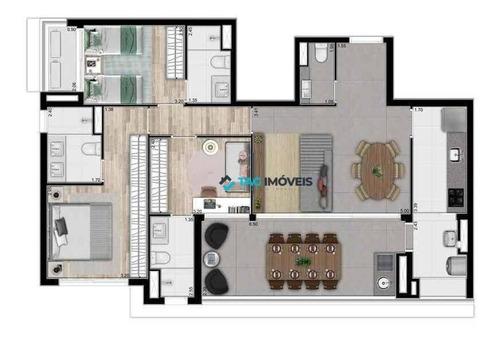 Imagem 1 de 12 de Apartamentos Para Venda De 109,15 Metros Quadrados Na Vila Mariana Em São Paulo. - Ap2676