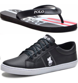 Kit Chinelo Masculino + Sapatênis Polo Plus Original!!!
