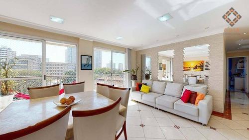 Apartamento Para Compra Com 3 Quartos, 1 Suite E 2 Vagas Localizado Na Vila Romana - Ap53261