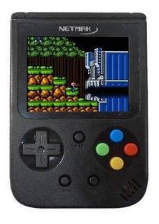 Netmak Nm-bros Consola Portatil Retro Games 500 Juegos 8bits