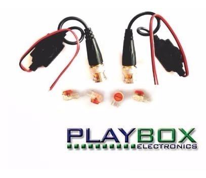 Balun Pasivo Pb100 Para Cctv (trans Y Rec) Para Uso Exterior