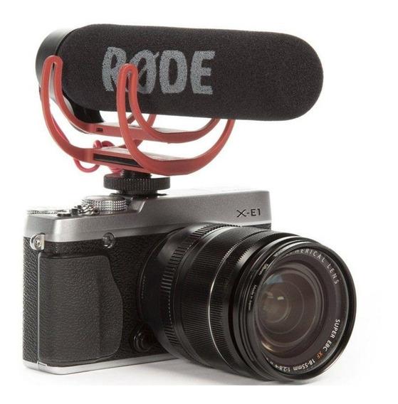 Microfone Rode Go Videomic Shotgun Canon Nikon Sony