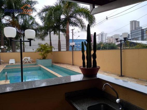 Apartamento Com 2 Dormitórios Para Alugar, 60 M² Por R$ 1.500/mês - Jardim Aquarius - São José Dos Campos/sp - Ap7230